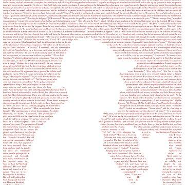 Sherlock Holmes Textcoration (red text) by frikybomb
