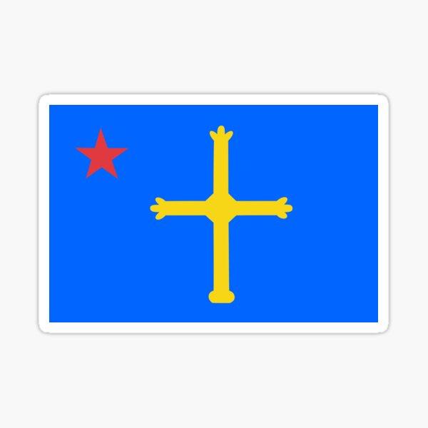 Flag of Asturias Sticker