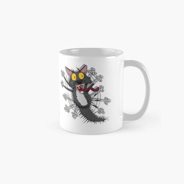 Pixel The Cowardly Cat! Classic Mug