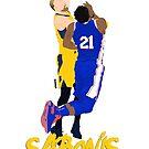 «Sabonis Poster» de nbagradas
