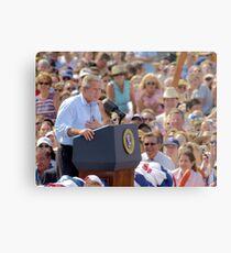 President GW Bush Metal Print