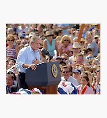 President GW Bush Photographic Print