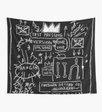 JEAN MICHEL BASQUIAT BEAT BOP ALBUM FAN ART. Wall Tapestry