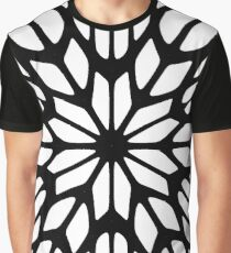 #pattern #abstract #design #shape #art #steel #illustration #decoration #futuristic #repetition #vertical #textured #geometricshape #backgrounds #ironmetal #nopeople #seamlesspattern #durability Graphic T-Shirt