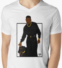 Suspicious Minds (Square) Men's V-Neck T-Shirt