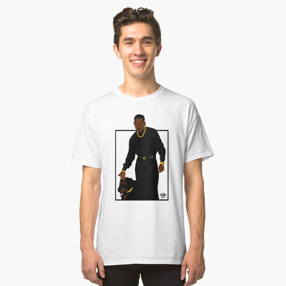 Verdächtige Gedanken (Quadrat) Classic T-Shirt