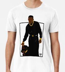 Verdächtige Gedanken (Quadrat) Männer Premium T-Shirts