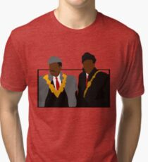 Welcome to Queens (Coming to America) Tri-blend T-Shirt