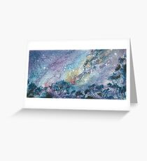 Mallee Sky Greeting Card