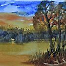 Cypress Waterscape  by Warren  Thompson