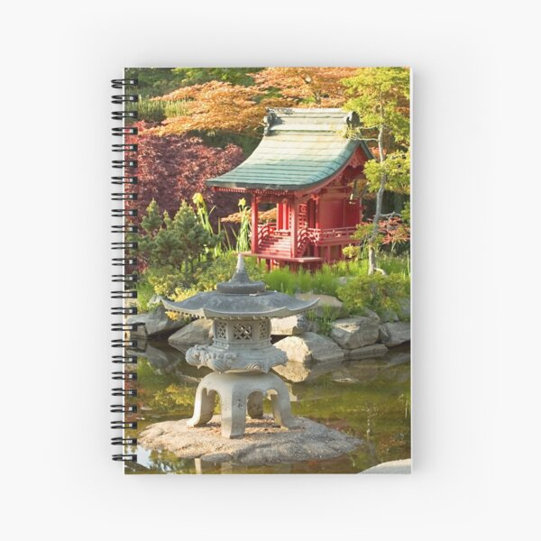 Pagoda Spiral Notebook