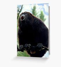 Howler Monkey Greeting Card
