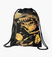 Traditional Hemi Rust Drawstring Bag