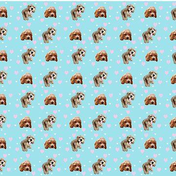 Spaniels as Print by BlueNorth