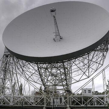 Lovell Telescope, Jodrell Bank by XsCode