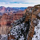 Looking across the Grand Canyon by Dennis Reagan