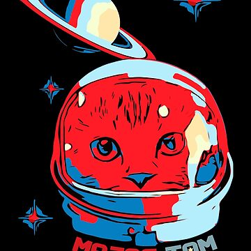 Major Tom | Astronaut Cat | Space Cat by House-of-Roc