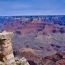 A view of the Grand Canyon by Dennis Reagan