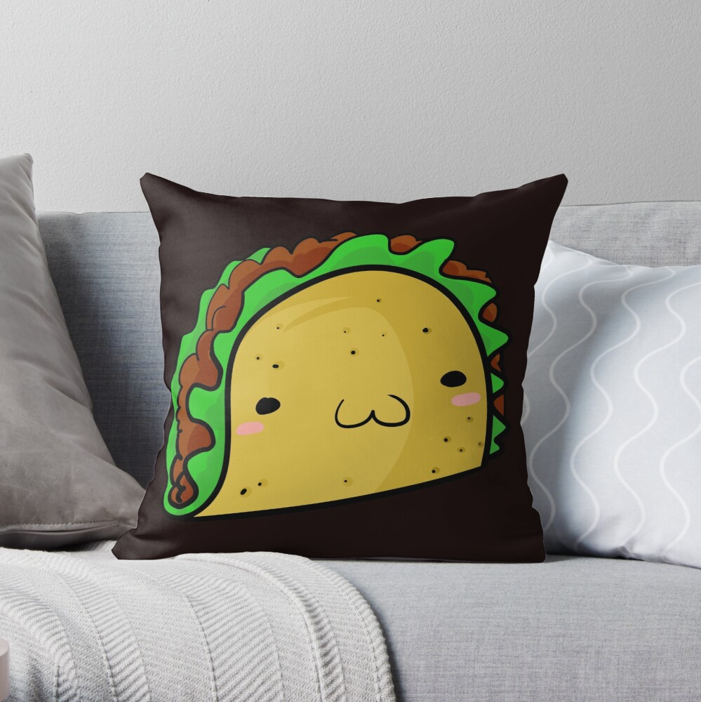 Taco Taco Throw Pillow