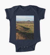 a desolate Mexico landscape Kids Clothes