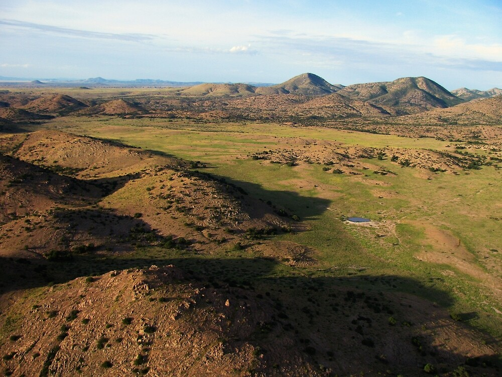a desolate Mexico landscape by beautifulscenes