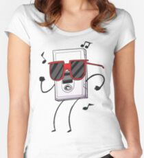 Regular Show Summer Time Women's Fitted Scoop T-Shirt