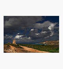 Ghajn Tuffieha Malta Photographic Print