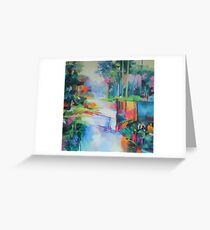 Bunya Riverside Greeting Card