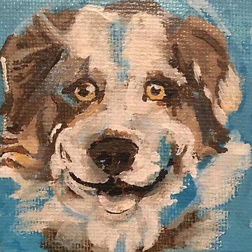 Dog II by melchormoore