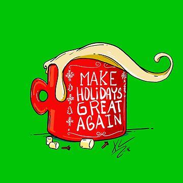 Make Holidays Great Again by santanafirpo