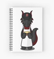Jimmy Dragon 1 Spiral Notebook