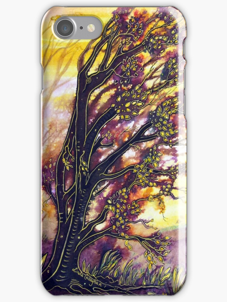 Trees in the Breeze by Linda Callaghan
