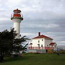 Lighthouse, Mayne Island by TerrillWelch