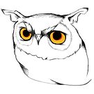 Marigold Owl by annieclayton