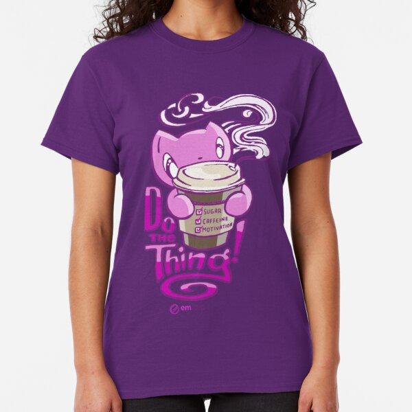 Scribbles: DO THE THING (pink) Classic T-Shirt