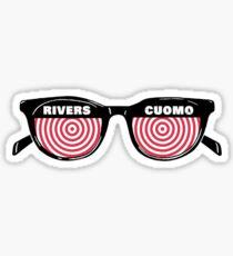 Rivers Cuomo 3D glasses Sticker
