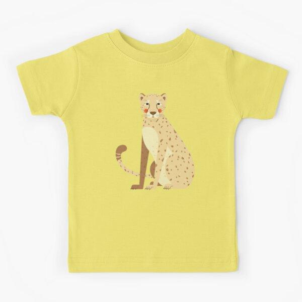 Cheetah, African Wildlife Kids T-Shirt