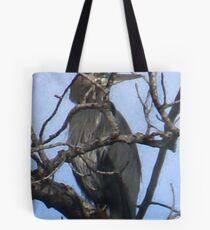 Heron Medicine Tote Bag