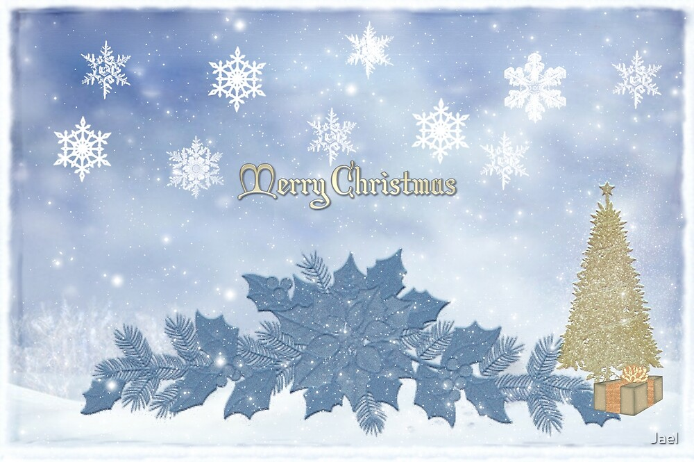 MY MERRY BLUE CHRISTMAS! by Jael