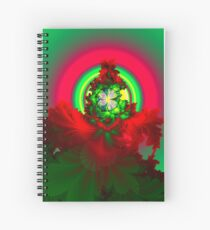 Nature's Glow Spiral Notebook