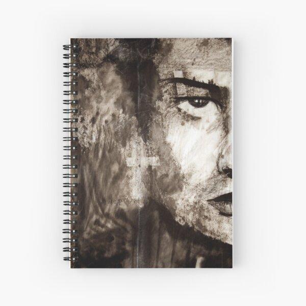 portrait of Simon John Ritchie Spiral Notebook