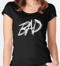 XXXTentacion BAD! Women's Fitted Scoop T-Shirt