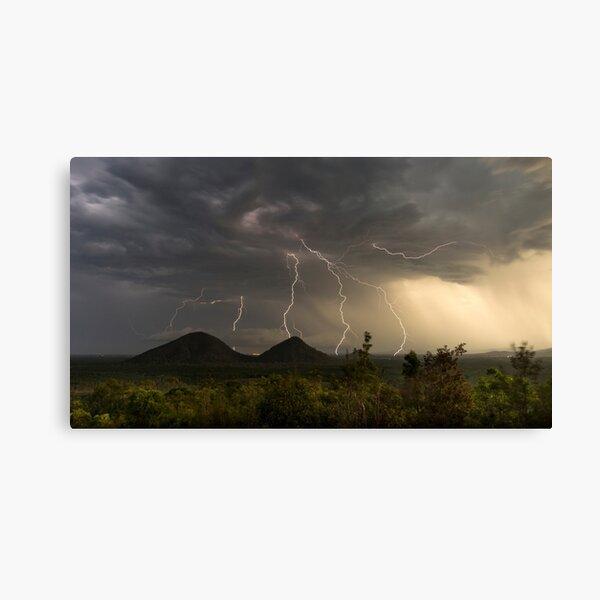 Summer Storm, Glasshouse Mountains Queensland Canvas Print