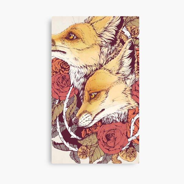 Red Fox Bloom -   Canvas Print