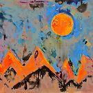orange Berge von Marianna Tankelevich