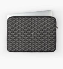 Black goyard Laptop Sleeve