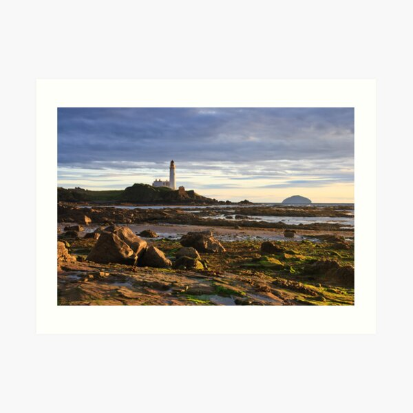 Turnberry Lighthouse Art Print