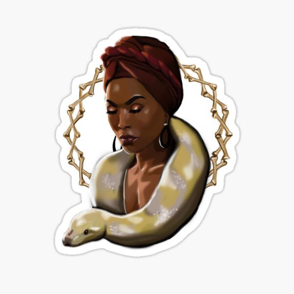 Marie Laveau Sticker