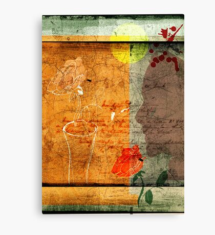 hope she's making sweet dreams Canvas Print