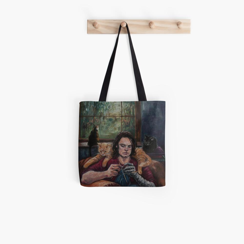 Stricken Tote Bag